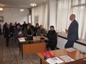 Среща на Тишев с жители на Бургас